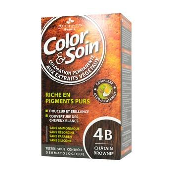 Color&Soin, farba do włosów, brąz kasztan (4B), 135 ml