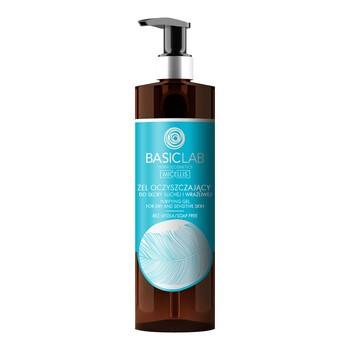 BasicLab Micellis, żel oczyszczający do skóry suchej i wrażliwej, 300 ml