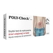POLY-Check, szybki test do wykrywania krwi utajonej w kale, 1 szt.