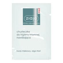 Ziaja Med, chusteczka do higieny intymnej, nawilżająca, 1 saszetka