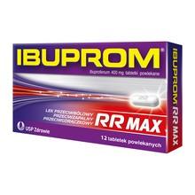 Ibuprom RR Max, 400 mg, tabletki powlekane, 12 szt.
