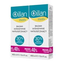 Zestaw Promocyjny Oillan med+, balsam intensywnie natłuszczający, 400 ml x 2 opakowania
