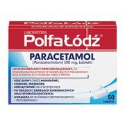 Laboratoria PolfaŁódź Paracetamol, 500 mg, tabletki, 50 szt.