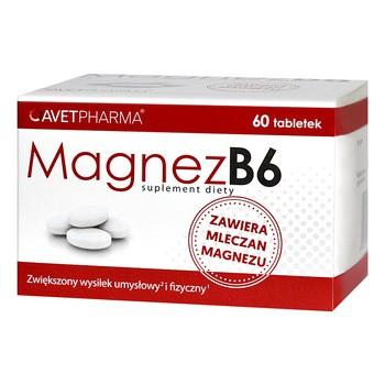 Magnez B6, tabletki, 60 szt
