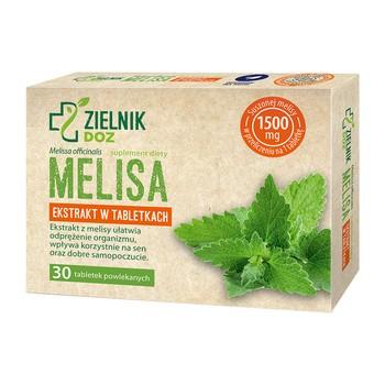 ZIELNIK DOZ Melisa, tabletki powlekane, 30 szt.