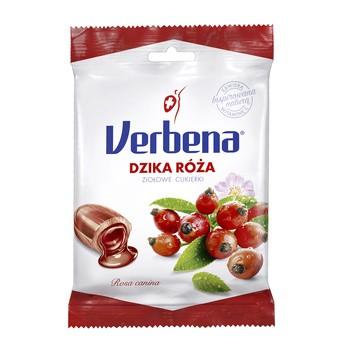 Verbena, cukierki ziołowe z dziką różą i witaminą C, 60 g