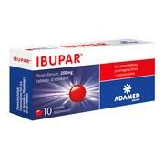 Ibupar, 200 mg, tabletki drażowane, 10 szt.