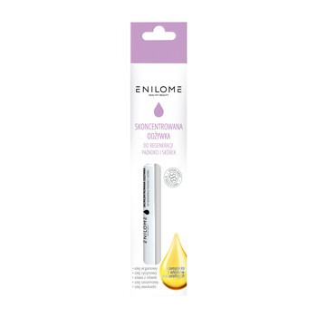 Enilome Healthy Beauty, skoncentrowana odżywka do regeneracji paznokci i skórek, 2 ml