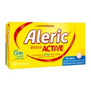 Aleric Deslo Active, 2,5 mg, tabletki ulegające rozpadowi w jamie ustnej, 10 szt.