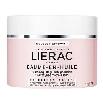 Lierac Baume-En-Huile, balsam w olejku do demakijażu, cera sucha, 120 g