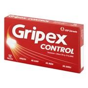 Gripex Control, 500 mg + 50 mg, tabletki, 12 szt.