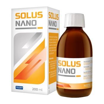 Solus Nano, roztwór nawilżający do jamy ustnej, 200 ml