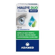 Hialeye Duo Emulsja, krople do oczu, 10 ml