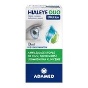 Hialeye Duo Emulsja, krople do oczu, 10 ml