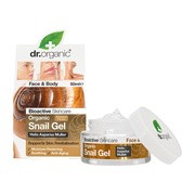 Dr. Organic Snail Gel, żel ze śluzu ślimaka, 50 ml