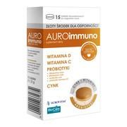 AuroImmuno, tabletki do rozgryzania, żucia, 15 szt.