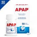 Apap, 500 mg, tabletki powlekane, 50 szt.