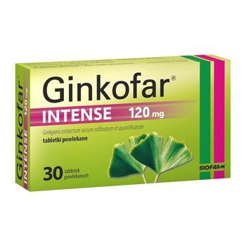 Ginkofar Intense, 120 mg, tabletki powlekane, 30 szt.