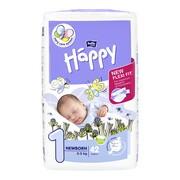 Bella Baby Happy Newborn 1, pieluszki jednorazowe, 2-5 kg, 42 szt.