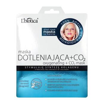 L`Biotica Maska Dotleniająca+CO2, na tkaninie, 23 ml