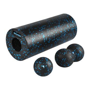 Spokey RULLO zestaw do masażu: roller, piłka, piłka podwójna, 1 szt.