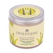 Orientana, bogate masło do ciała, trawa cytrynowa i żywokost, 100 g