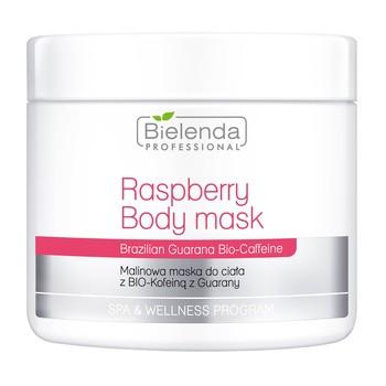 Bielenda Professional, malinowa maska do ciała z BIO-Kofeiną z Guarany, 550 g