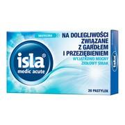 Isla medic acute, pastylki do ssania, 20 szt.