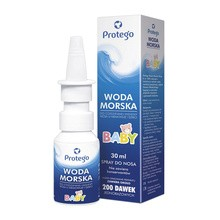 Protego Woda morska Baby, spray do nosa, 30 ml