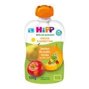 HiPP HiPPiS BIO, mus jabłka, gruszki, dynia, po 5. miesiącu, 100 g