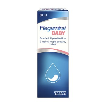Flegamina Baby (2 mg/ml), krople doustne, 30 ml