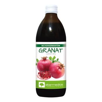 Granat, sok z granatu, 1000 ml (Alter Medica)