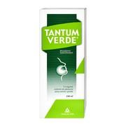 Tantum Verde, 0,15%, roztwór do płukania jamy ustnej i gardła, 240 ml
