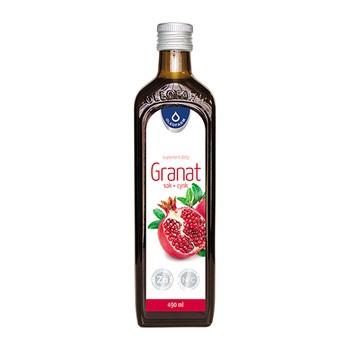 Granat sok + cynk, płyn, 490 ml