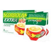 Scorbolamid EXTRA Hot, granulat do sporządzania zawiesiny doustnej, 8 saszetek