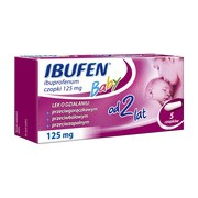 Ibufen Baby, 125 mg, czopki, 5 szt.