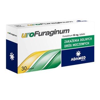 UroFuraginum, 50 mg, tabletki, 30 szt.