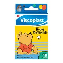 Plastry Viscoplast Kubuś i Przyjaciele, 72 x 25 mm, 10 szt.
