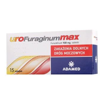 UroFuraginum Max, 100 mg, tabletki, 15 szt.