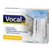Vocal cytryna, pastylki do ssania, miękkie, 24 szt.