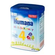 Humana 4 mali odkrywcy, mleko w proszku następne po 24 miesiącu, 650 g
