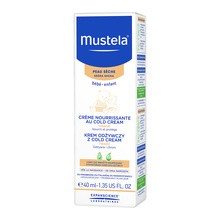 Mustela Bebe-Enfant, krem odżywczy z Cold Cream, 40 ml