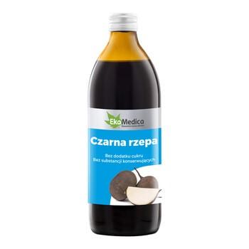 Czarna rzepa, sok, 500 ml (EkaMedica)