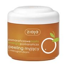 Ziaja, Pomarańczowe Masło Energia Pomarańczy, peeling myjący średnioziarnisty, 200 ml