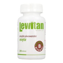 Lewitan, tabletki z miętą, 100 g