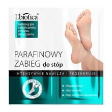 L 'Biotica, parafinowy zabieg do stóp, intensywnie nawilża i regeneruje, 2 x 5,5 ml