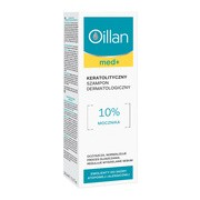 Oillan med+, keratolityczny szampon dermatologiczny, 150 ml