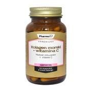 Pharmovit Premium Kolagen morski + witamina C, kapsułki, 60 szt.