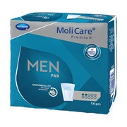 Molicare, wkład., Premium Men Pad, 2 krople, 14 szt.