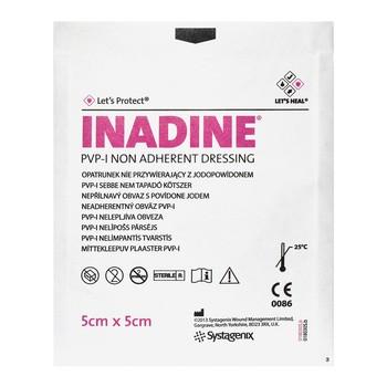 Inadine, opatrunek, 5 x 5 cm, 1 szt.